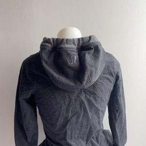 Grey Lululemon Zip Up Sweater Size 2
